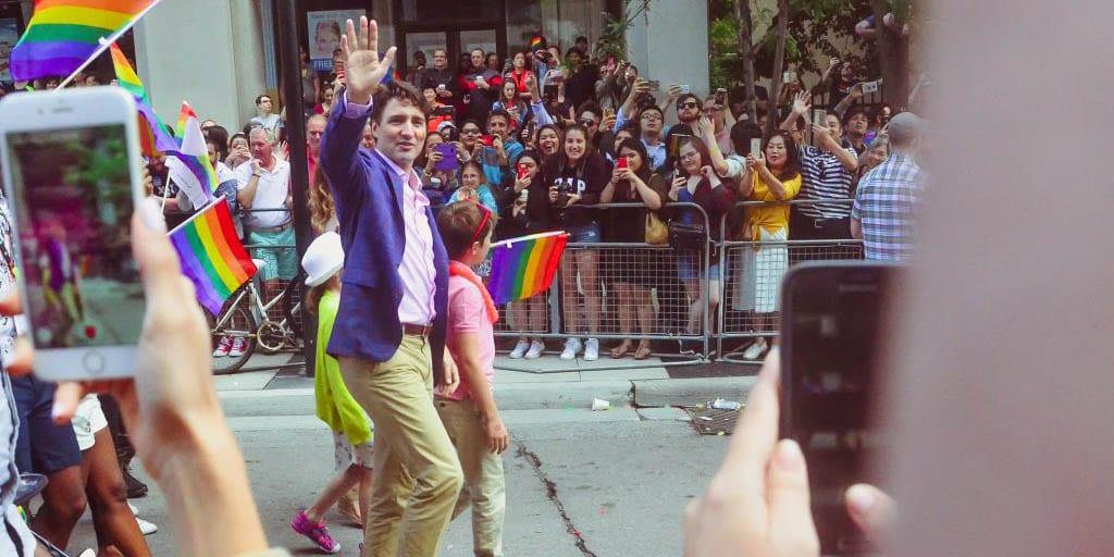 Canadas Political Leader, Trudeau