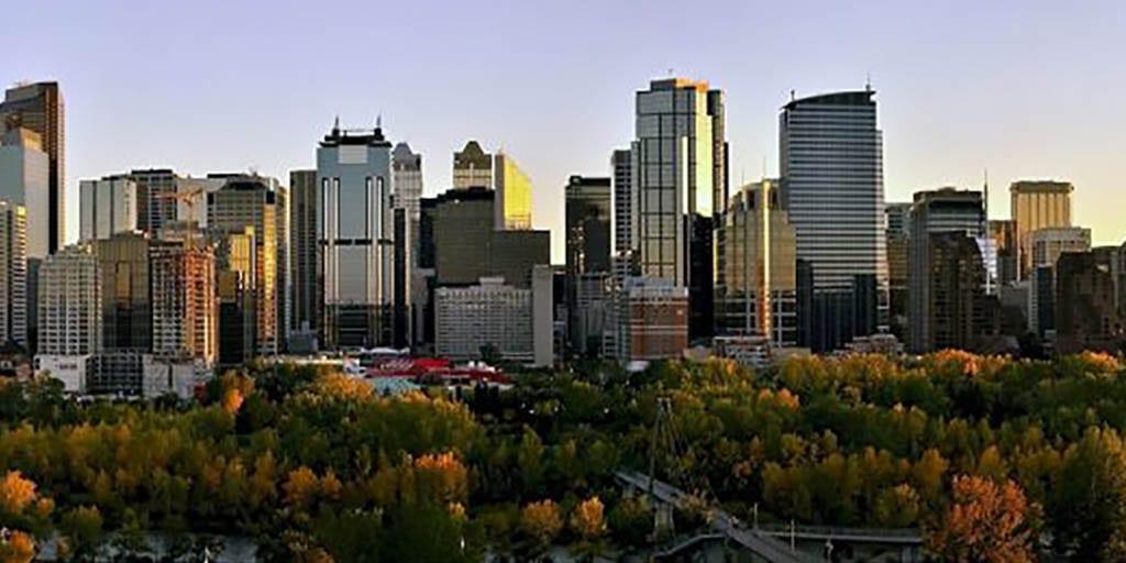 Skyline of Calgary, Canada
