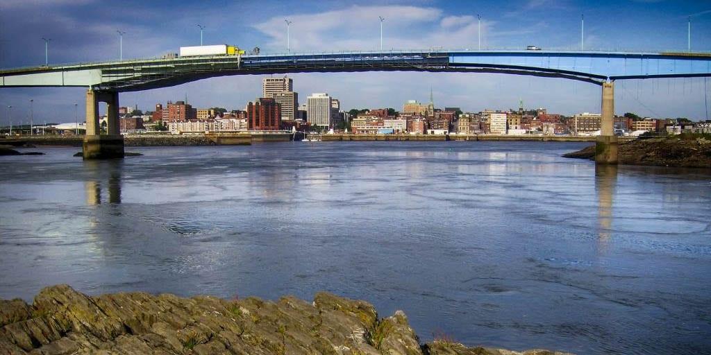Bridge in New Brunswick, Canada